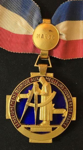 Médaille du Meilleur Ouvrier de France pour...