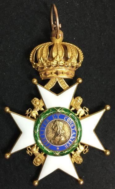 Duchés de Saxe, ordre la Maison Ernestine,...