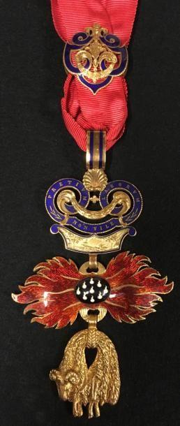 Ordre de la Toison d'or, fondé en 1430, bijou...
