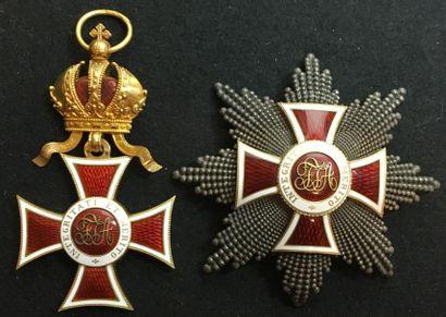 Ordre de Léopold, fondé en 1808, ensemble...