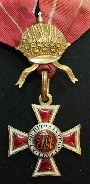 Ordre de Léopold, croix de commandeur du...
