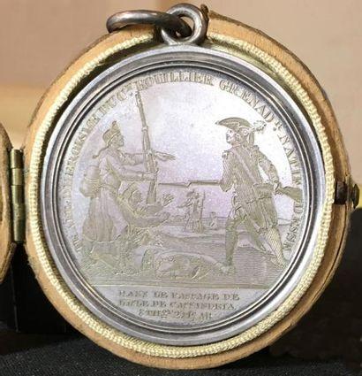 28 juillet 1794, prise de l'île de Cassandria,...