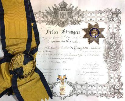 Ordre de la Couronne de Fer, fondé en 1815,...