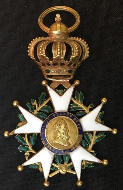 Premier Empire et Restauration, aigle d'or...