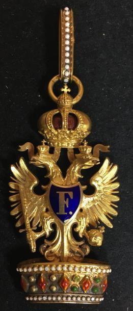 Ordre de la Couronne de Fer, bijou de 2e...