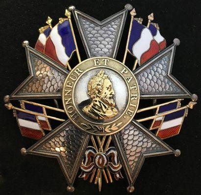 Monarchie de Juillet, plaque de grand officier,...
