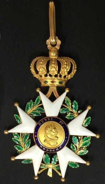 Monarchie de Juillet, bijou de commandeur...