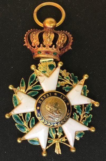Monarchie de Juillet, étoile d'officier en...