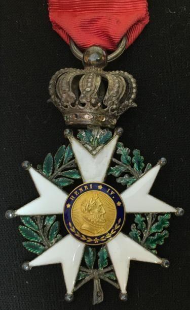 Monarchie de Juillet, étoile de chevalier...