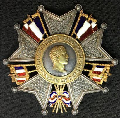 IIe République, plaque de grand officier...