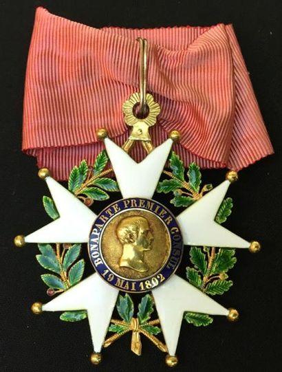 IIe République, bijou de commandeur en or...
