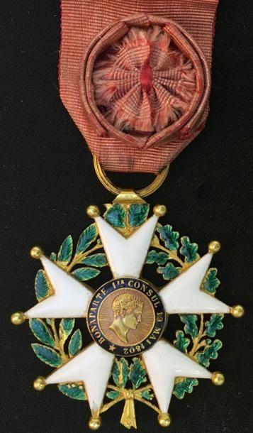 IIe République, étoile d'officier en or et...