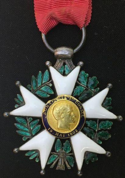 IIe République, étoile de chevalier en argent...