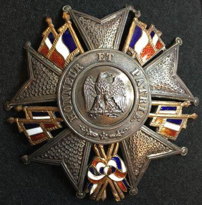 Présidence, plaque de grand officier en argent,...