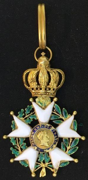 Second Empire, étoile d'officier en or et...