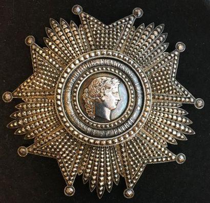 IIIe République, importante plaque de grandcroix,...