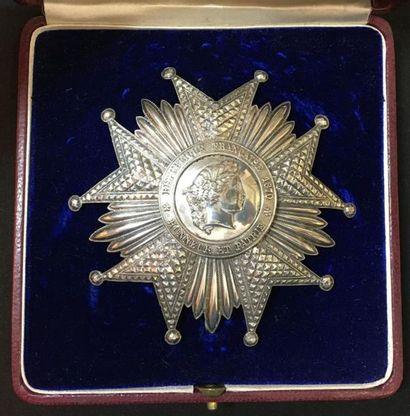 IIIe République, plaque de grand-croix en...