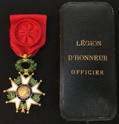 IIIe République, étoile d'officier, modèle...