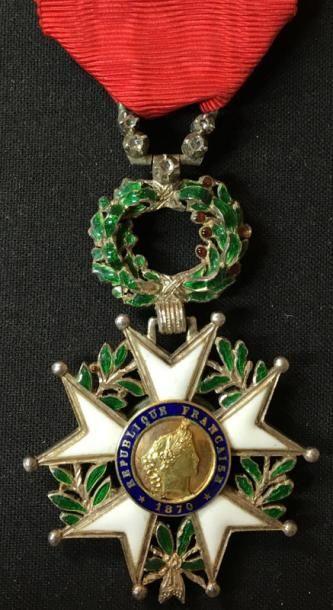 IIIe République, étoile de chevalier, modèle...