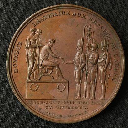 16 août 1804, médaille commémorative de la...