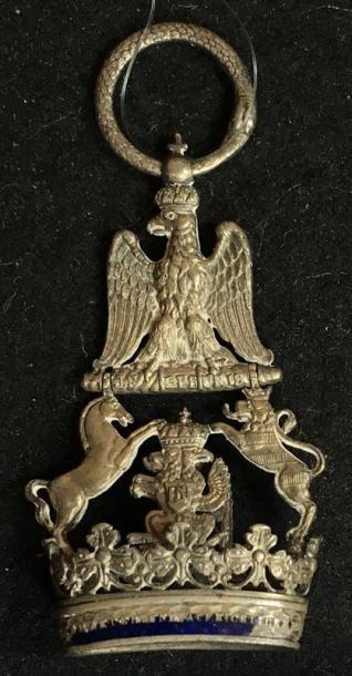Bijou de chevalier de 2e classe en argent...