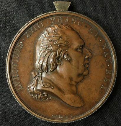 Campagne d'Espagne de 1823, médaille commémorative...
