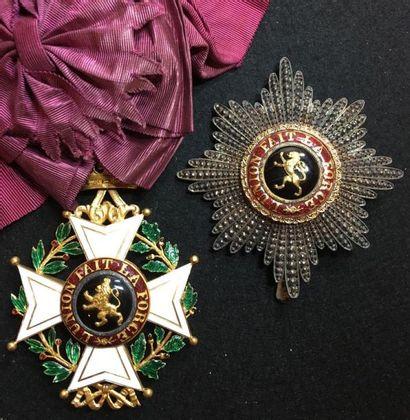 Ordre de Léopold, fondé en 1832, ensemble...