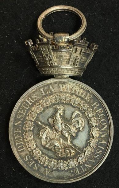 Médaille de Juillet d'un contestataire ou...