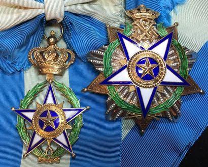Ordre de l'Étoile Africaine, fondé en 1888...
