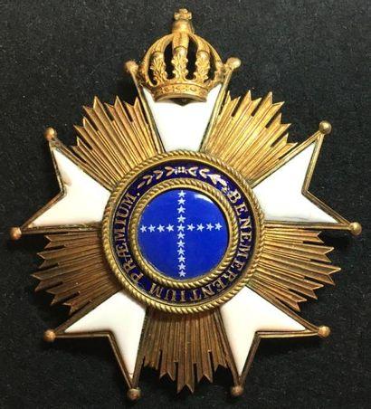 Ordre de la Croix du Sud, fondé en 1822,...