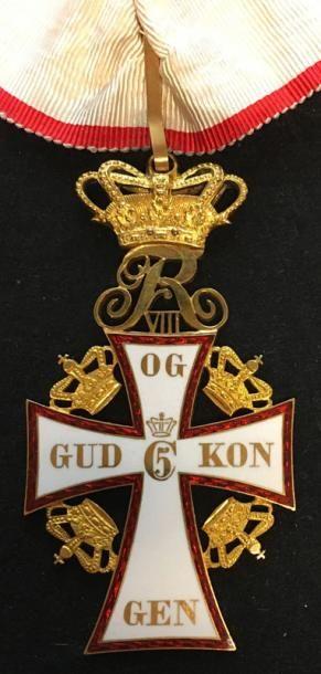 Ordre du Dannebrog, bijou de commandeur en...