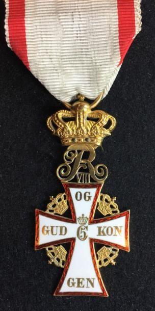 Ordre du Dannebrog, croix de chevalier en...