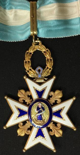 Ordre de Charles III, bijou de commandeur...