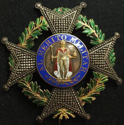Ordre de Saint-Ferdinand, fondé en 1811, ensemble de chevalier grand-croix lauré...