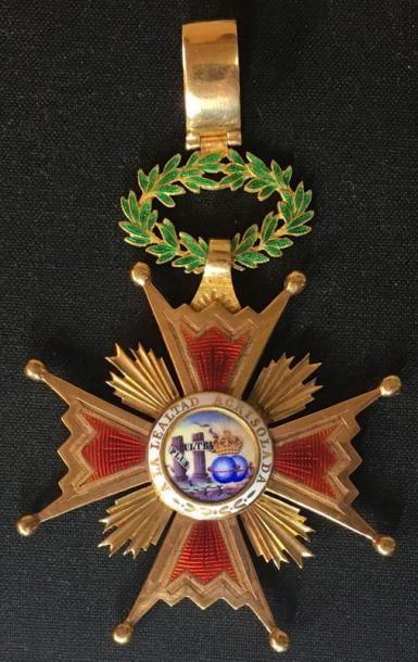 Ordre d'Isabelle la Catholique, fondé en...