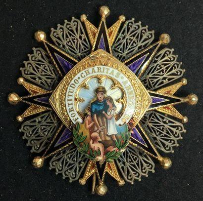 Ordre civil de la Bienfaisance, fondé en...