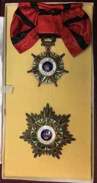 Ordre des Deux Rivières, fondé en 1922, ensemble...