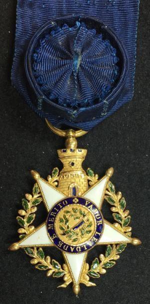 Ordre de la Tour et de l'Épée, fondé en 1808,...