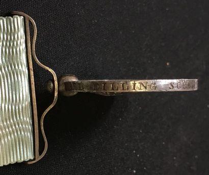 Royaume de Hanovre Ordre des Guelphes, fondé en 1815, médaille du mérite en argent...