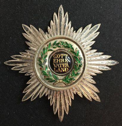 Grand-duché de Hesse - Ordre de Louis, fondé...