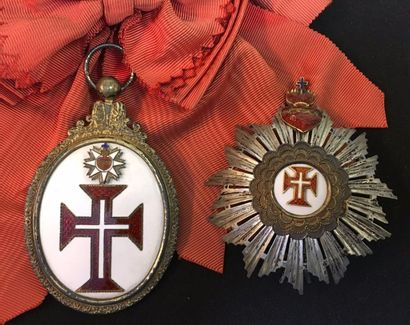 Ordre du Christ, fondé en 1319, ensemble...