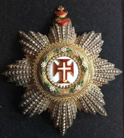 Ordre du Christ, plaque de grand-croix de...