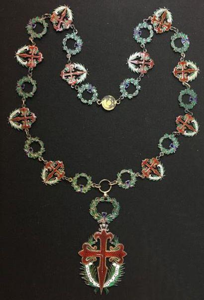 Ordre de Saint-Jacques de l'Épée, collier...