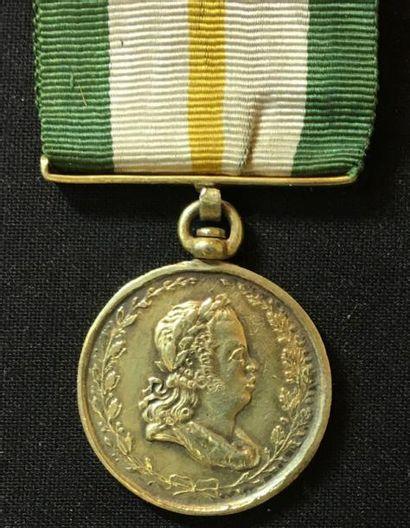 Médaille de La Fidélité au Roi et à la Patrie,...