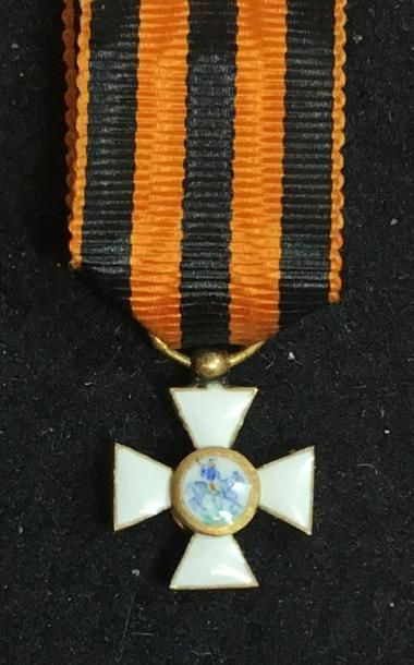 Ordre de Saint-Georges, croix miniature en...