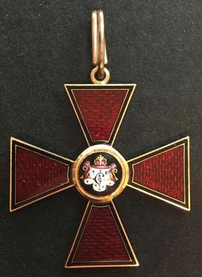 Ordre de Saint-Vladimir, fondé en 1782, croix...
