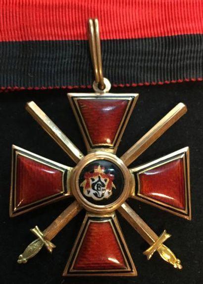Ordre de Saint-Vladimir, croix de 3e classe...