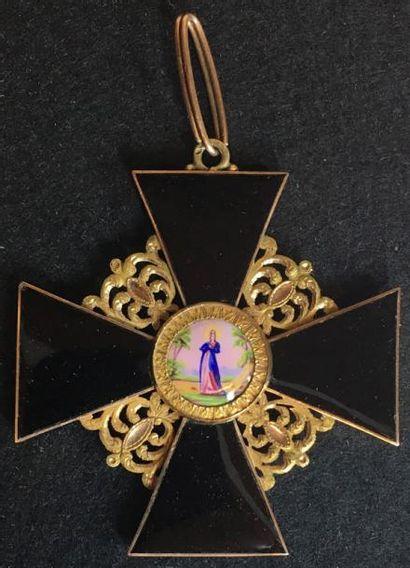 Ordre de Sainte-Anne, fondé en 1735, croix...