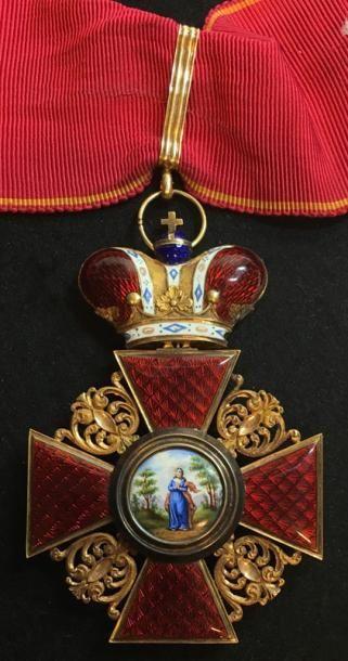 Ordre de Sainte-Anne, spectaculaire croix...