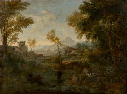 Attribué à Jan-Frans van BLOEMEN dit Orizzonte (1662-1749)